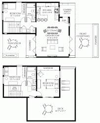 Small 3 Bedroom Cabin Plans Small House Plan Small Contemporary House Plan Modern Cabin Plan
