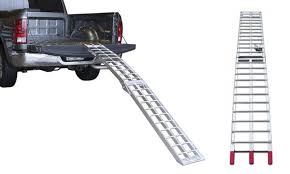Up To 17% Off on Raider Aluminum Motorcycle Ramp | Groupon Goods