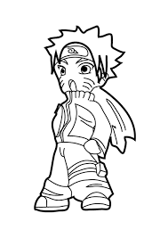 Chibi Naruto Coloring Pages Free Printable Coloring Pages