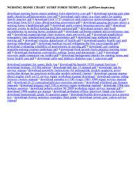 Chart Audit Form Template Fillable Online Ju5f3zrr Hopto Nursing Home Chart Audit Form
