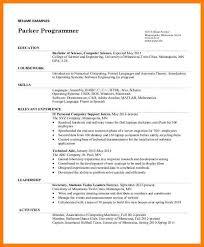 resume for undergraduate resume template for undergraduate