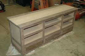 building tv stand