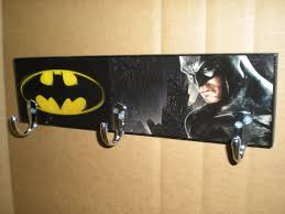 Superhero Coat Rack Batman coat rack Batman Sign Super Hero decor coat hooks 10