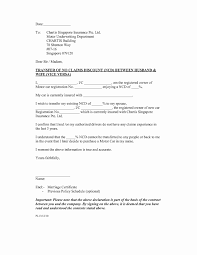 Noc Letter Format Transfer Ownership Save Sample Certificate