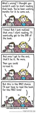 a relationship with a book is plicated sometimes