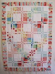 37 best Quilting - Disappearing 4 Patch images on Pinterest ... & Tin Whistle: Disappearing 4-patch quilt Adamdwight.com