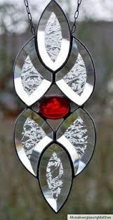 Sterne Glas Im Tiffanytechnik Stil Fensterdeko Weihnachten