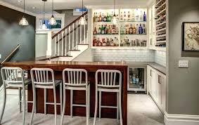 small basement corner bar ideas. Interesting Basement Basement Corner Bar Small Ideas Warm Wood Whites  For Small Basement Corner Bar Ideas