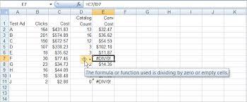 Understanding Preventing Excel Div 0 Errors Productivity Portfolio