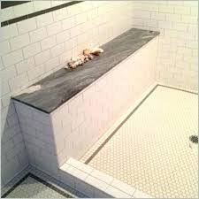 shower benches tile a unique best images about bench on stone floating seat floati