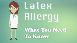 Latex Allergy - What You Need To Know - YouTube