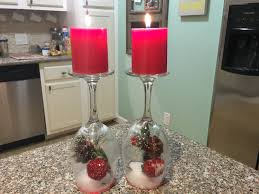easy dollar tree christmas diy snow globe candle decor