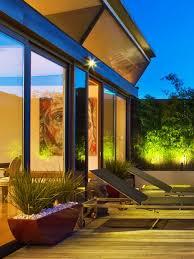 terrace lighting. Urban Roof Terrace Lighting Scheme