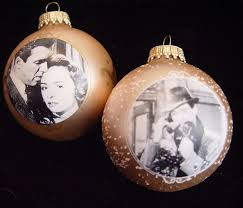 It's a Wonderful Life Christmas Ornaments- Set of 2- Movie Photographs