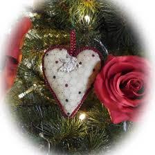 Weihnachtsbaumschmuck Selber Nähen Rose Decoration Das