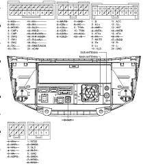 pioneer car radio stereo audio wiring diagram autoradio connector lexus p3500 pioneer fx mg8767dv