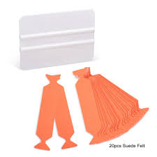 <b>EHDIS Suede Edge</b> Felt With White Card Squeegee Scraper Vinyl ...
