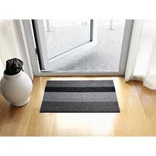 chilewich floor mat. Chilewich Skinny Stripe Utility Mat, 24 By 36-Inch, Birch Floor Mat N