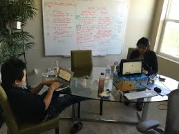 makeshift office. Makeshift Office. Nitya \\u0026 Calvin Working Hard At Our Office T