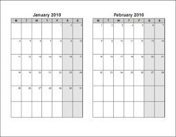 Print 2010 Calendar Six Pages Bi Monthly Ask The Econsultant