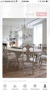 swedish rococo style ellipse dining table that is also shabby chic