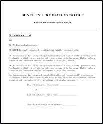 30 day termination letters health insurance termination letter cancellation template resume