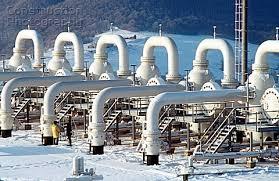 gas compressor station. the golyatin gas compressor station of urengoipomaryuzhgorod pipeline zakarpattia region ukr