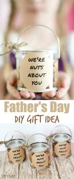 nuts about you diy fathers day gifts crafts