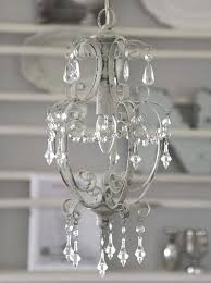 Lampe Hängelampe Deckenlampe Kronleuchter Weiß In Handarbeit Gefertigt Shabby Landhaus Nostalgie Chic Antique