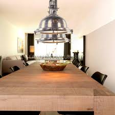 Tafellamp Welke Lamp Boven Eettafel Hanglamp Over Robuuste