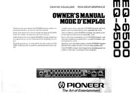 pioneer eq 6500 related keywords suggestions pioneer eq 6500 users guide pioneer eq 6500 equalizer english pdf or