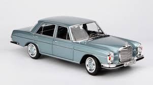 Bid for the chance to own a no reserve: 1 18 Norev 1968 Mercedes Benz Mercedes 280 Se 280se Silver Blue Diecast Car Model Livecarmodel Com