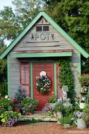 Potting Shed Designs 14 Whimsical Garden Shed Designs Storage Shed Plans & Pictures 1859 by xevi.us