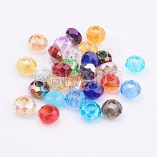 faceted glass beads gpdl j028 1