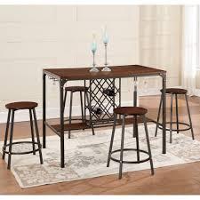 5 Piece Bar Table Set Brayden Studio Littell 5 Piece Pub Table Set Reviews Wayfair