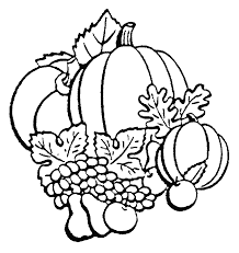 Small Picture Coloring pages and stencils for the Fall