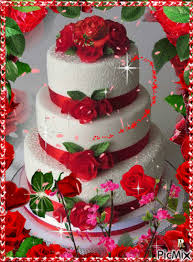 Geburtstag Birthday Greetings Happy Anniversary Cakes Happy