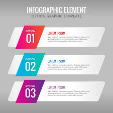 Ai Three Banners With Colors For Infographics Vector Free