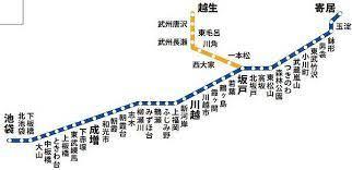 東武 伊勢崎 線 路線 図