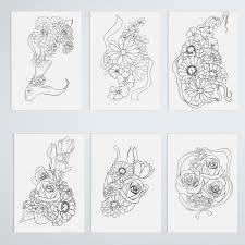 Adult Color Book Floral Printable For Your Mindfulness Meditating