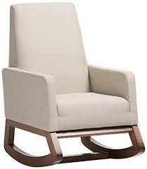 contemporary rocking chair. Contemporary Chair Baxton Studio Yashiya Mid Century Retro Modern Fabric Upholstered Rocking  Chair Light Beige Intended Contemporary Chair