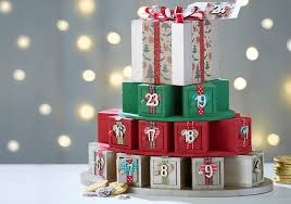 how to make an advent calendar present stack