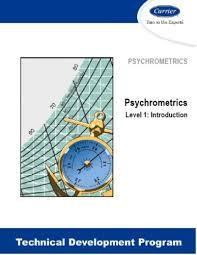 Carrier Tdp 201 Psychrometrics Level 1 Introduction