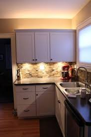 Best under cabinet kitchen lighting Install Love To Decor Good Tutorial For Installing Under The Cabinet Lighting Kitchen Backsplash Pinterest Best Kitchen Under Cabinet Lighting Images Home Kitchens Home