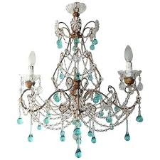 recycled glass chandeliers aqua images modern floating glass turquoise chandeliers emery recycled glass lighting
