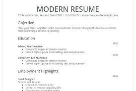 Simple Format Of Resume Example Resume Sample Resume Template Via ...
