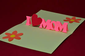 She grew up captivated by the world of color. Simple Mother S Day Pop Up Card Template Creative Pop Up Cards