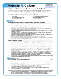 Film Production Resume Template Builder Television Invoice