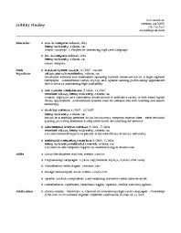View an Example Resume