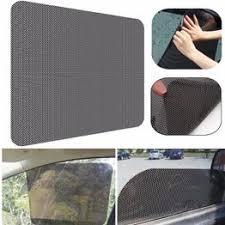 Car styling 2pcs/lot UV Sticker Car Sunshade Electrostatic ... - Vova